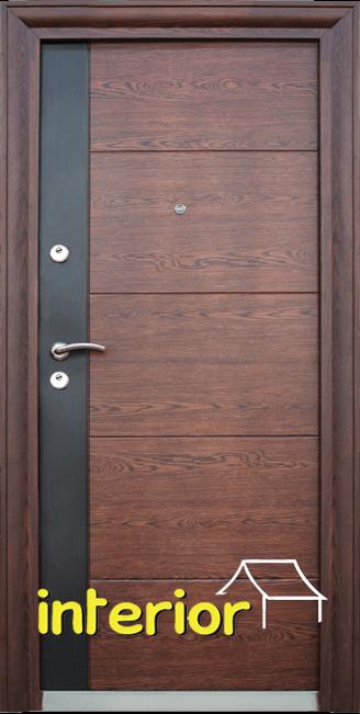 Блиндирана входна врата модел 616 С