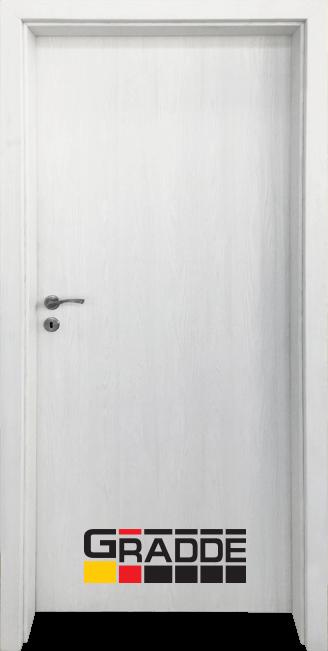 Интериорна HDF врата, модел Gradde Simpel, Сибирска Лиственица