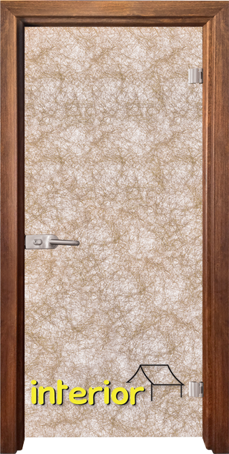 Стъклена интериорна врата модел Fabric G 12-1 с каса Светъл дъб