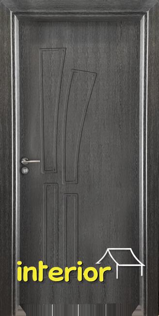 Интериорна врата Гама 205p, цвят Сив Кестен