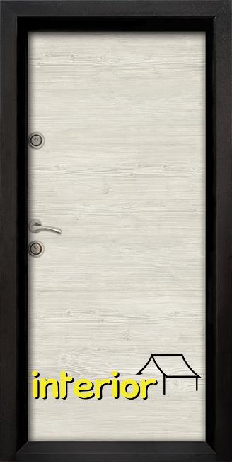 Блиндирана входна врата Ale Door 402, цвят Sunta