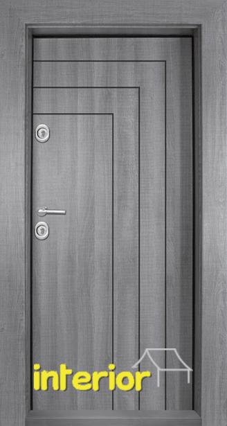 Блиндирана входна врата, модел Т1002